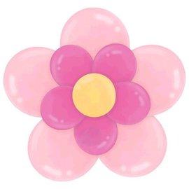 Latex Balloon Kit - Pink Flower