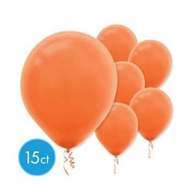 Orange Peel Solid Color Latex Balloons - Packaged, 15ct