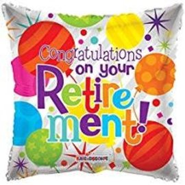 Congratulations on Your Retirement Balloon, 18""