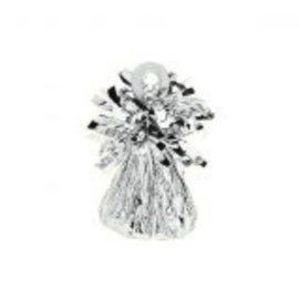 Small Foil Balloon Weight- Silver