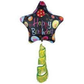"70"" Happy Birthday Bursts Airwalker"