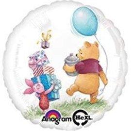 "Winnie the Pooh Birthday Balloon, 18"""