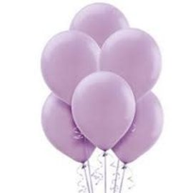 Lavender Solid Color Latex Balloons - Packaged, 15ct