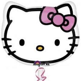 """Hello Kitty Head Balloon, 18"""""""