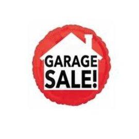 """Garage Sale Red Balloon, 18"""""""
