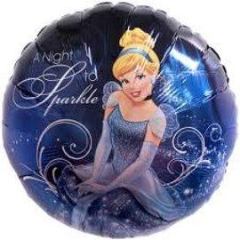 "Cinderella Balloon, 18"""