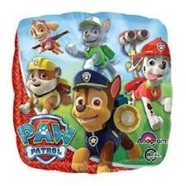 "Paw Patrol Happy Birthday Balloon, 18"" (#109)"