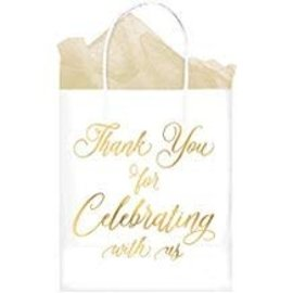 """Thank You For Celebrating With Us"" Kraft Bags, 10ct"