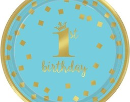 Blue & Gold 1st Birthday
