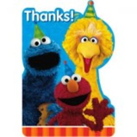 Sesame Street® Postcard Thank You Cards 8ct