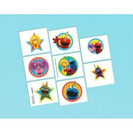 Sesame Street® Tattoo Favors 8ct