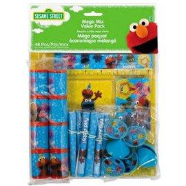 Sesame Street® Mega Mix Value Pack Favors 48ct