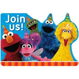Sesame Street® Postcard Invitations 8ct