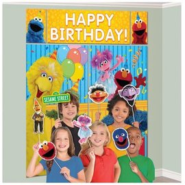 Sesame Street® 2 Scene Setters® with Props