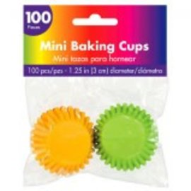 Mini Cupcake Cases ‑ Rainbow -100ct