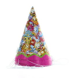 Shopkins Party Hats, 8ct- Clearance