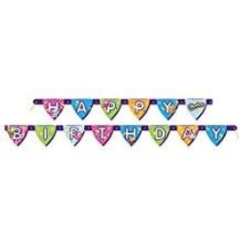 Shopkins Birthday Banner, 6ft - Clearance