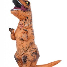 Inflatable Kids T-Rex Costume OS (#75)