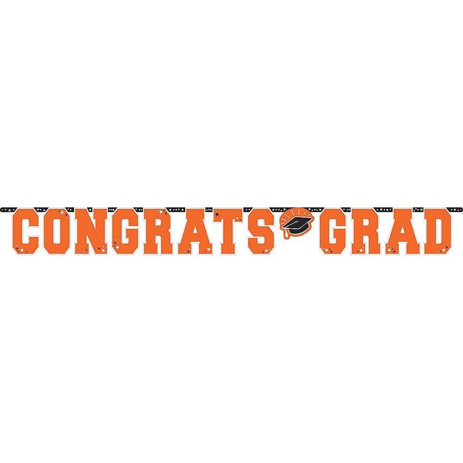 10 ft Giant Grad Banner Orange