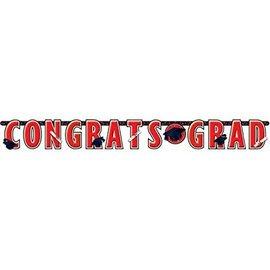 10 ft Giant Grad Banner red