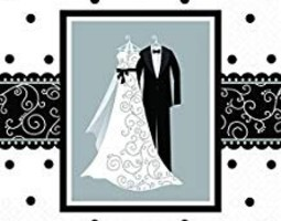 Black/White Wedding