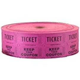 Magenta Double Ticket Roll, 2000ct