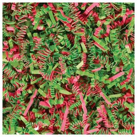 Jumbo Easter Shred - Green/Pink