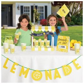 Mini Lemonade Stand Decorating Kit