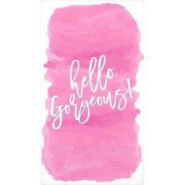 Hello Gorgeous Guest Towel