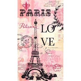 Paris Love Guest Towels