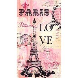 Paris Love Guest Towels