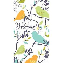 Welcome Birds Eco Guest Towel