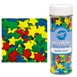 Jumbo Star Sprinkles, 3.25oz