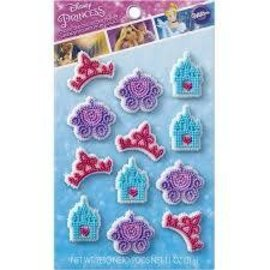 Cinderella Icing Decorations, 12ct