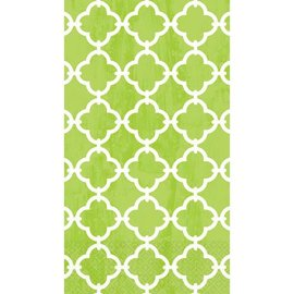 Spring Green Tile Guest Towels