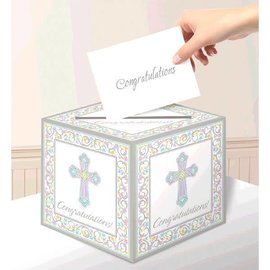 Blessed Day Card Box Holder