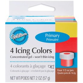 Primary Icing Colors