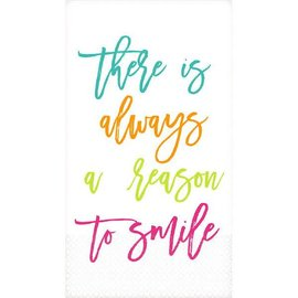 A Reason To Smile Guest Towel
