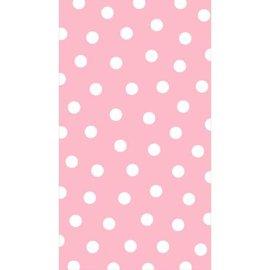 Pink Polka Dots Guest Towels