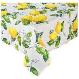 Lemons Fabric Tablecover