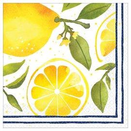 Lemons Luncheon Napkins