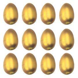 Gold Metallic Eggs - Small