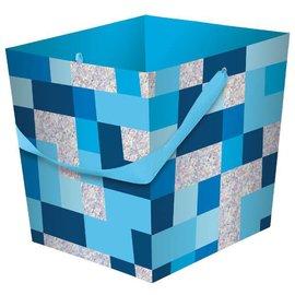 Easter Basket Blue Prismatic