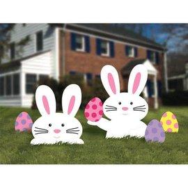 Bunny Yard Sign - Plastic
