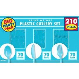 Caribbean Blue Value Window Box Cutlery Set