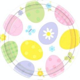 Eggstravaganza Round Plates
