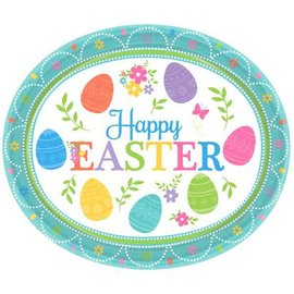 Lovely Easter Oval Plates