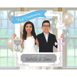 First Communion Giant Customizable Photo Frame