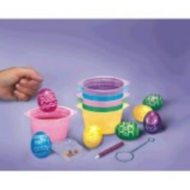 Plastic Egg‑Dying Coloring Cups