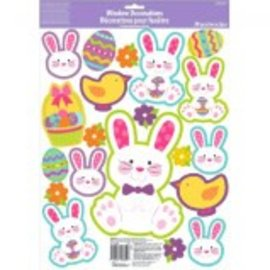 Easter Bunny Window Decorations